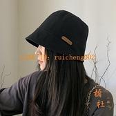日系顯臉小漁夫帽子女夏季盆帽時尚遮陽帽【橘社小鎮】