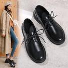 小皮鞋 黑色工作女鞋2021新款百搭舒適職業上班工裝軟底春秋英倫風小皮鞋 非凡小鋪