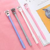 【BlueCat】打領結塞紅貓咪中性筆 水性筆