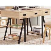 書桌 電腦桌 MK-875-1 艾爾莎4尺書桌【大眾家居舘】