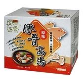 台糖安心豚-豚骨高湯18ML x10【愛買】