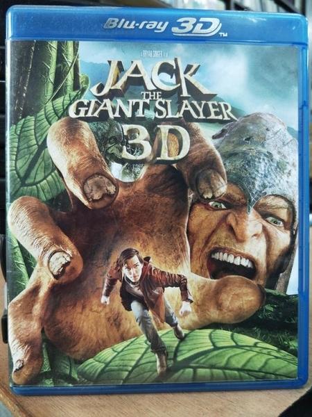挖寶二手片-TBD-006-正版BD-電影【傑克:巨人戰紀 3D+2D雙碟】-藍光影片(直購價)