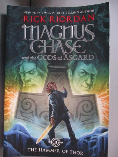 【書寶二手書T7/原文小說_MGJ】Magnus Chase and the Gods of Asgard, Book 2 The Hammer of Thor_Rick Riordan