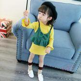 嬰兒洋裝 女童裙秋裝新品連身裙寶寶正韓公主裙歲兒童裝嬰兒裙子潮 中秋鉅惠