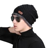針織毛帽-韓版潮流時尚首選男帽子6色73if43[時尚巴黎]