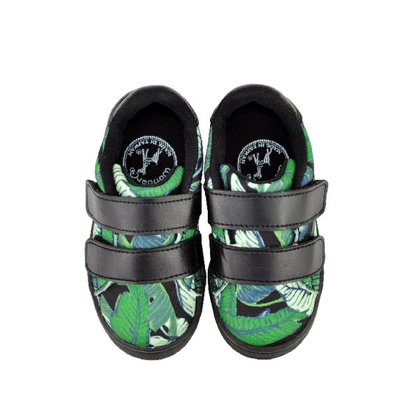 FEARLESS兒童休閒鞋-棕櫚(黑)