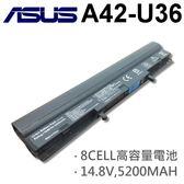 ASUS 8芯 日系電芯 A42-U36 電池 U44 U44S U44SG U82 U82U