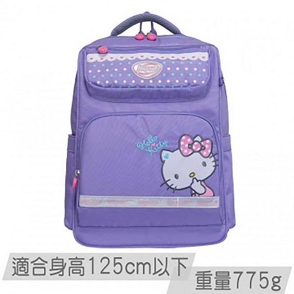 IMPACT怡寶 X Hello Kitty 歐式輕量書包夢幻點點系列 紫- IMKT201PL