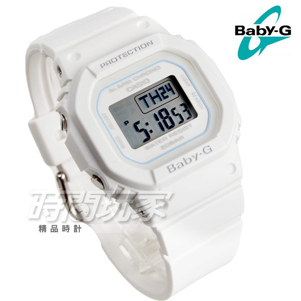 Baby-G BGD-560-7 復刻經典原型百搭流行設計休閒錶 女錶 防水手錶 白色 BGD-560-7DR CASIO卡西歐