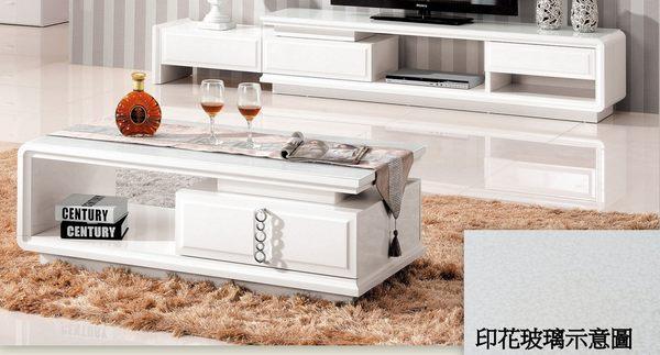 【南洋風休閒傢俱】茶几系列- 方桌  造型桌  收納  普夫白色大茶几  (JH519-2)