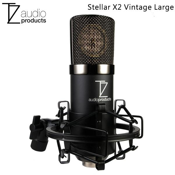 EGE 一番購】TechZone【Stellar X2 Vintage】復古風 XLR電容式麥克風套裝組 弦樂器