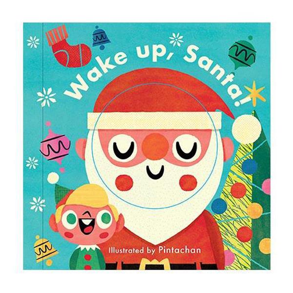 Little Faces:Wake Up,Santa! 變臉操作書:聖誕老公公快醒醒!