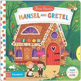 【 First Stories 童話故事(幼兒版)】HANSEL AND GRETEL /操作書 (糖果屋)