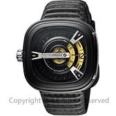 SEVENFRIDAY M2 設計師工藝自動上鍊機械錶-黑/47mm M2