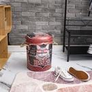 【網購特惠】*美式風格鐵桶收納椅-MEOW王-生活工場
