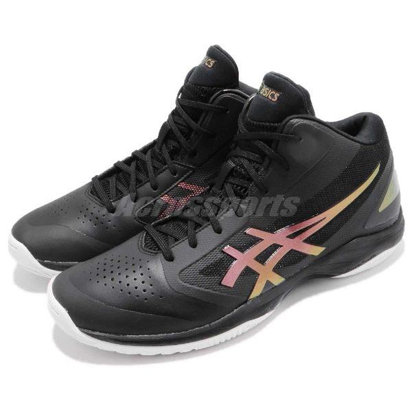 【六折特賣】Asics 籃球鞋 Gelhoop V 10 Wide 黑 金 寬楦 舒適緩震 透氣 男鞋 運動鞋【PUMP306】 TBF3409026