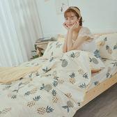 [SN]#U094#細磨毛天絲絨5x6.2尺標準雙人床包+枕套三件組-台灣製(不含被套)