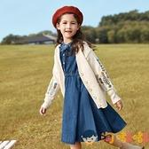 女童套裝秋裝兒童牛仔裙子中大童韓版兩件套【淘嘟嘟】