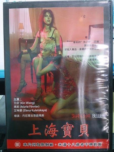挖寶二手片-M03-024-二手DVD*電影【上海寶貝(18禁/限制級)】王欣*瑪莉*艾琳娜