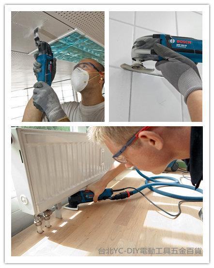 台北益昌2016到貨!德國 BOSCH 電動魔切機 GOP 250 CE 磨切機 木工 鐵工 水電空調 塑膠管切割 研磨