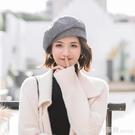 造型帽 八角帽子貝雷帽女秋冬天冬季韓版百搭英倫復古潮畫家報童帽網紅款 開春特惠