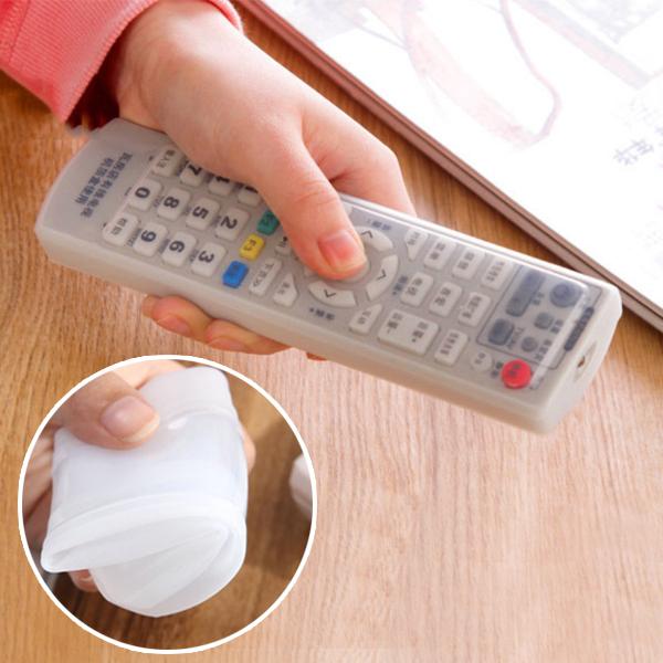 遙控器套 遙控器保護套 矽膠保護套 矽膠套 防塵 防水 冷氣 電視 18.5*5*2cm