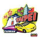 【收藏天地】台灣紀念品*玩美新台灣系列-台灣車隊PVC造型冰箱貼 ∕ 小物 磁鐵 送禮 文創 風景