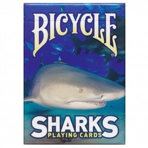 【USPCC 撲克】Bicycle sharks playing cards