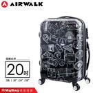 AIRWALK 環郵世界 行李箱 20吋...