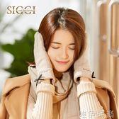 手套 手套女秋冬韓版加絨保暖羊毛分指手套加厚御寒開車防風手套 唯伊時尚