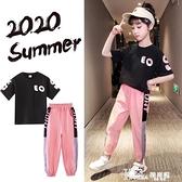 女童套裝-女童夏裝套裝2021新款童裝大童洋氣網紅兒童女孩短袖夏兩件套夏季