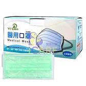 謚謰 成人醫用口罩 50入/盒 藍/綠/紫 雙鋼印+愛康介護+