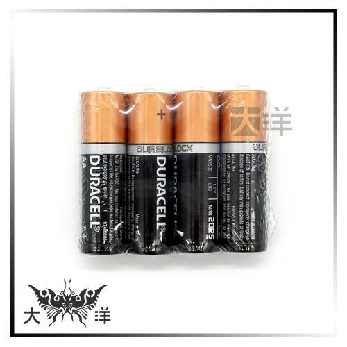 ◤大洋國際電子◢ DURACELL金頂  3號鹼性電池4入(散裝) MN1500-4-1