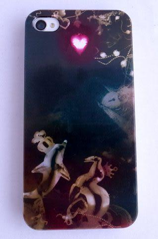 捷泰文創系列 iphone4/4S 鋁合金手機殼 渴望