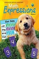 二手書《Math Expressions, Grade K Consumable: Houghton Mifflin Math Expressions》 R2Y ISBN:9780618509720