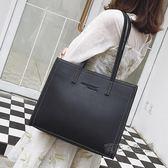 包包女上側背包女大包正韓時尚挎包大容量手提托特包 『魔法鞋櫃』