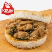 【KK Life-紅龍】台菜三杯雞米漢堡 (170g/顆; 3顆/袋)