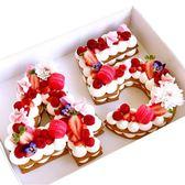 數字蛋糕模具 4寸6寸8寸10寸大號網紅生日烘焙模具字母   玩趣3C