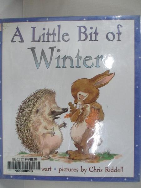 【書寶二手書T4/少年童書_J21】A Little Bit of Winter_Stewart, Paul/ Riddell, Chris (ILT)