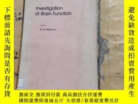 二手書博民逛書店INVESTIGATION罕見OF BRAIN FUNCTIONY252403 A.W.WILKINSON P