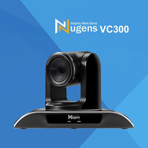 (客訂商品) Nugens 捷視科技 VC300 3倍 光學變焦 PTZ 1080P 會議視訊 攝影機