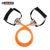 ALEX 高強度拉力繩-輕型 (拉力帶 瑜珈繩 彈力繩 健身阻力帶 阻力繩 訓練帶≡體院≡ B-4302