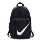 Nike 後背包 Elemental Kids Backpack 黑 白 大勾勾 叉叉 輕便 旅行 包包 基本款 附筆袋【PUMP306】 BA5405-010