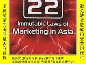 二手書博民逛書店The罕見22 Immutable Laws Of Marketing In AsiaY256260 Al R