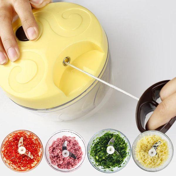 切菜神器廚房神器攪菜機家用手動攪蒜器蒜泥器絞菜機餃子餡碎菜器(交換禮物 創意)聖誕