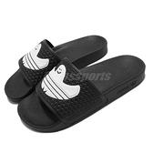 adidas 拖鞋 Shmoofoil Slide 黑白 聯名 滑板概念 愛迪達 三葉草 男鞋 女鞋【ACS】 FY6849