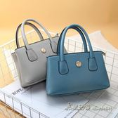 媽媽買菜包女士簡約小方包中年婦女手提包零錢硬幣包拎包【米蘭街頭】