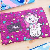iaeShop 迪士尼DISNEY 瑪麗貓Marie 雙層收納包 化妝包 旅行包 萬用包 外出包 手提包 筆袋