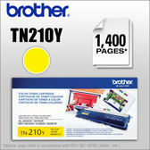 【原廠碳匣、品質保障】Brother TN-210Y原廠黃色碳粉匣~適用:MFC-9320CW/HL-3070CW
