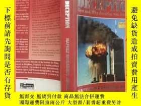 二手書博民逛書店英文書罕見September 11, 2001: The Great Deception: How and Why